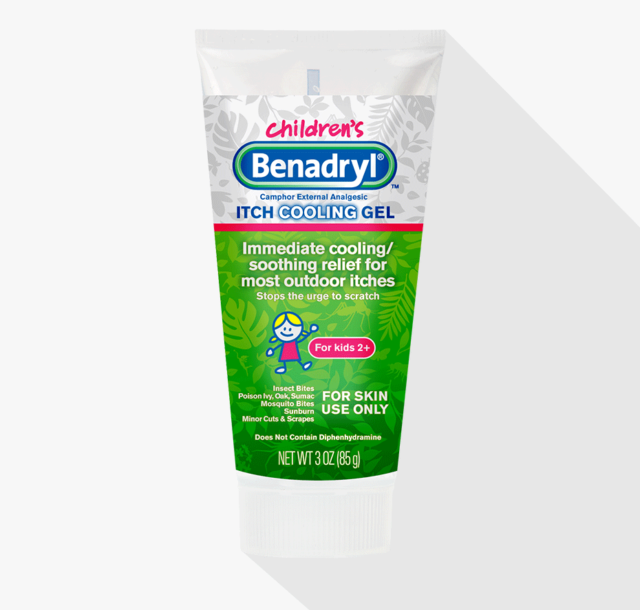 BENADRYL® Anti-Itch Gel for Kids Small