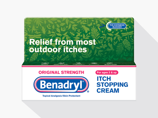 BENADRYL® Anti-itch Products Help Stop Itching